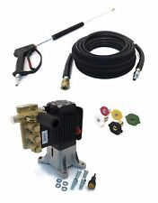 "4000 psi AR PRESSURE WASHER PUMP & SPRAY KIT RSV4G40 Annovi Reverberi 1"" Shaft"