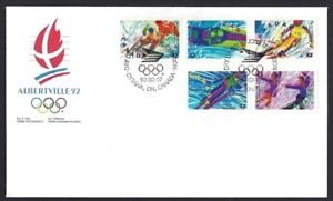 Canada  # 1403a       ALBERTVILLE  WINTER OLYMPICS   New 1992 Unaddressed