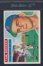 1956 Topps GB #034 Tom Brewer Red Sox VG/EX *544
