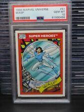 1990 Marvels Universe Wasp Super Heroes #51 PSA 10 GEM MINT Q162