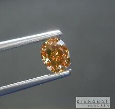 .62ct Fancy Orange Brown VS1 Oval Diamond GIA R7538 Diamonds by Lauren