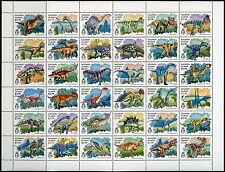SOLOMON ISLANDS 2016 DINOSAURS   SHEET OF 36 MINT NH