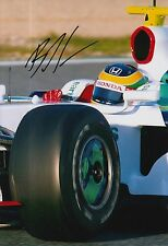 Bruno Senna Hand Signed 12x8 Photo Honda F1.