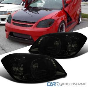 For Pontiac 05-06 Pursuit 07-09 G5 05-10 Chevy Cobalt Smoke Headlights Lamps