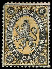 Scott # 1 - 1879 - ' Lion of Bulgaria '