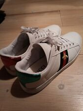 Sneakers Scarpe Uomo O Donna Gucci Taglia 41/42 bianche