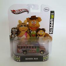 Hot Wheels Muppets School Bus for Electric Mayhem Band Disney 2012