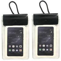 2x Handy Brustbeutel wasserdicht | Handytasche Umhängebeutel | Smartphone Tasche
