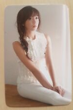 APink EUNJI SIGNED official PINK LUV photo card / very rare and limited