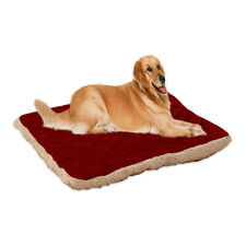 Warm Pet Large Dog Cat Bed Cushion Kennel Mat Soft Sleeping Blanket Pad Supplies
