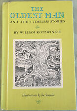 THE OLDEST MAN AND OTHER TIMELESS STORIES  KOTZWINKLE  SERVELLO 1971 PANTHEON HC