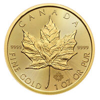 2018 $50 1oz Gold Canadian Maple Leaf .9999 BU