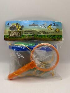 Backyard Travel Bug Catching Kit Sealed Damaged Packaging 3 Piece Set