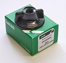 genuine Lucas 88sa BLACK plastic KNOB  for LUCAS 88SA LIGHTING SWITCH authentic