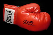 Roberto Duran Hand Signed Red Everlast Boxing Glove : New