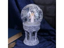Only Love Remains Memorial Remembrance Angel in Snow Globe 18.5cm New in stock