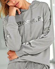 Damen Bench Sweatshirt mit Samtstreifen Gr.:36/38 NEU OVP