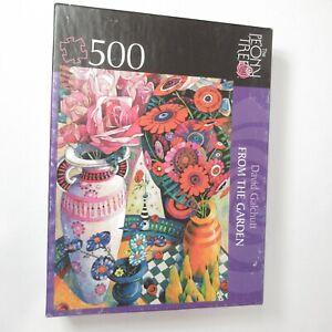 The Peony Tree Puzzle Garden Flowers Floral 500 Piece David Galchutt 18 x 24