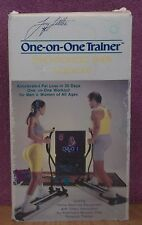 Tony Little One-On-One Trainer Synchronized Skier VHS Video Exercise Workout