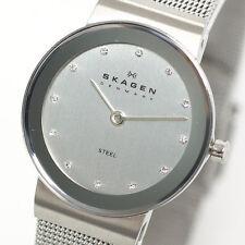 358 SSSD Nuevo Damas Reloj Skagen Freja refinado