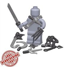 Brickforge NINJA ASSASSIN Accessory Pack for Lego Minifigures Assasin's Creed