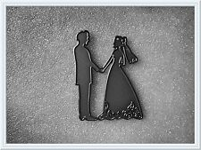 LATEST****Metal Bride & Groom Cutting Die,Wedding,Stencil,Craft,Card Making