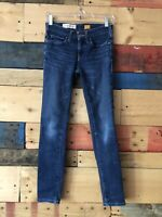 Anthropologie Pilcro And The Letterpress Mid Rise Sz 25 Women's