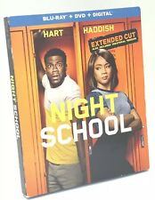 Night School (Blu-ray+DVD+Digital, 2018; Unrated Extended Cut) NEW w/ Slipcover