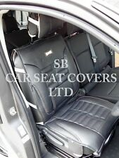 i - TO FIT A JAGUAR X TYPE CAR, SINGLE SEAT COVER, FH BLACK ROSSINI SPORTS