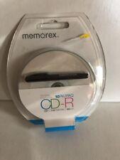 Memorex 10 Pack Of CD-R 52x 700MB 80 Minutes