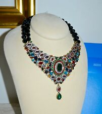 NIB $370 HEIDI DAUS *Worth Waiting For* Necklace Earrings Set Swarovski Crystal