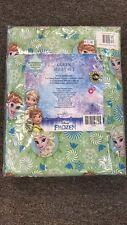 DISNEY FROZEN Elsa & Ana Queen Size Sheet Set Girls Home Bedroom Decor