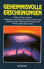 GEHEIMNISVOLLE ERSCHEINUNGEN - Moewig BUCH ( wie Erich von Däniken )