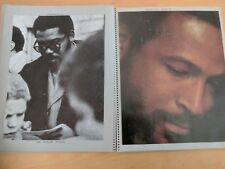 TAMLA MOTOWN scrapbook FOUR TOPS  SUPREMES MARVIN GAYE MARVELETTES MIRACLES