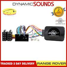 CTSLR006.2 Controles Del Volante Adaptador para Range Rover Deportivo 2005-2013