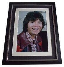 Cliff Richard Signed Autograph 16x12 framed photo display Music AFTAL COA