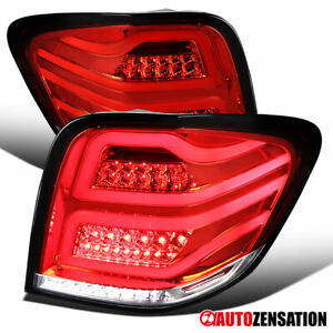 For 2006-2011 Mercedes Benz W164 ML-Class ML350 Red Full LED Tail Lights Lamps