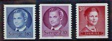 SWEDEN 1983 King Carl XVI Gustav Definitives. Set of 3. Mint Never Hinged.