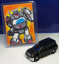 Trailcutter Legends Class & Sketch Card Transformers HFTD RTS Trailbreaker