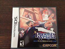 Phoenix Wright Ace Attorney (Nintendo DS) Complete Genuine NTSC Capcom