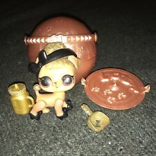 Lol Surprise Pets Series 3 Rare Glitter Pup Bee Queen Bee Puppy Dog Gold P-004