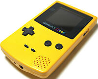 Nintendo Game Boy Color - Handheld Gaming Console - Dandelion Yellow