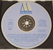 Stevie Wonder - Hotter Than July, MOTOWN ZD72015, Blue Face Japan CD