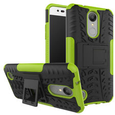 Shockproof Hybrid Rubber Stand Phone Case Cover For LG Aristo Fortune Phoenix 3