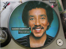 "Smokey Robinson - Being With You Mega Rare 12"" Picture Disc Promo Single LP"