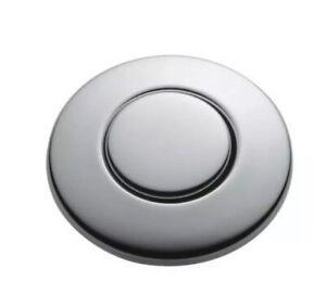 NEW InSinkErator SinkTop Switch Replacement Push Button, Satin Nickel, STC-SN