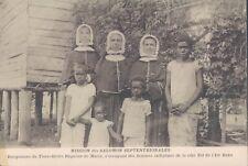 Solomon Islands  Buka Island orphan school 1910s PC