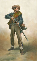 """Confederate First Sergeant"" Don Troiani Civil War Civil War Canvas Giclee"