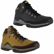 Lace Up Walking, Hiking, Trail CAT Boots for Men