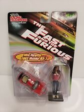 Rare Racing Champions The Fast And The Furious Mia Toretto 1993 Mazda RX-7 Red